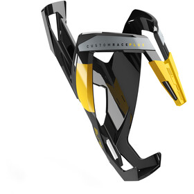 Elite Custom Race Plus Uchwyt na bidon, glossy black/yellow design